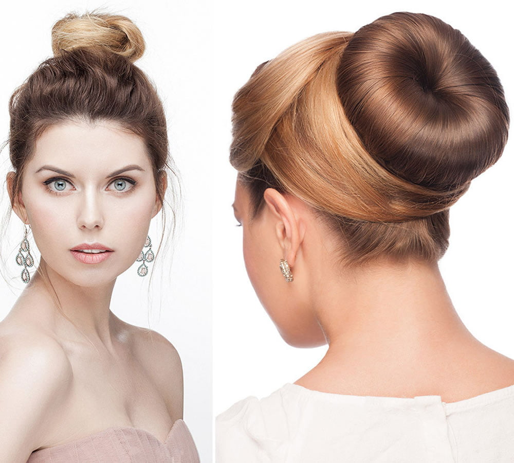 Prom Hair How To Bun Hair Tutorial Hair Colour For Long Hair