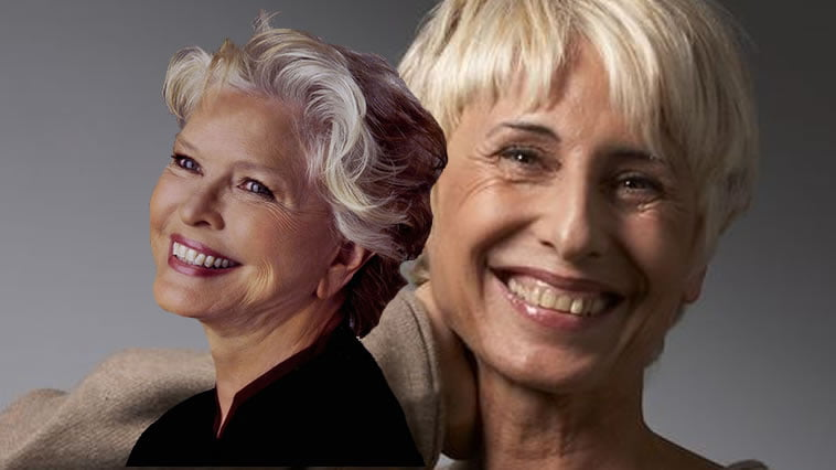 Older Women's Short Hairstyles And Hair Colors For 2019