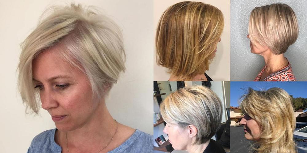 Trendy Short Balayage Hair Color Ideas Medium Blonde Hairstyles