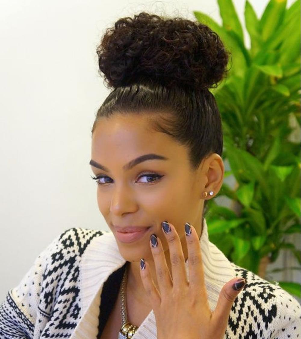 bun hairstyles 2019