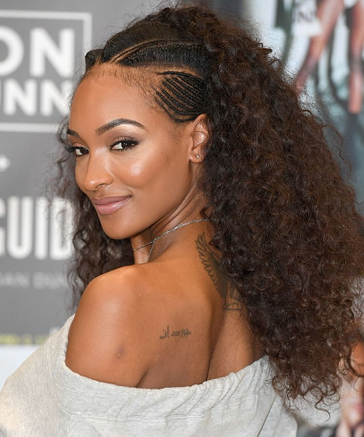 Curly hair 2019 models suitable for women's face shapes ...