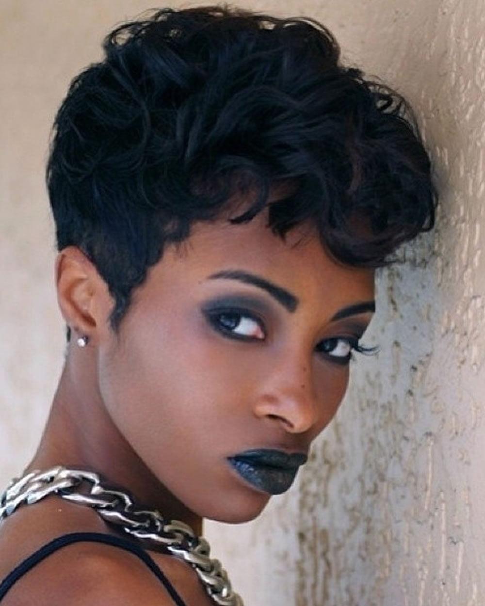 38+ Fine short natural hair for black women in 2020-2021 - Page 7 - HAIRSTYLES
