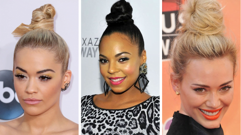 2019 buns hair style