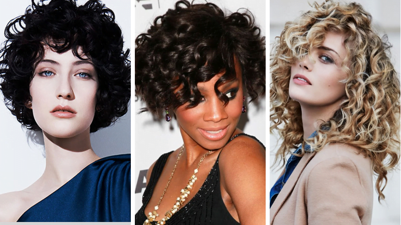Curly Hair 2019 Models Suitable For Women S Face Shapes Hairstyles