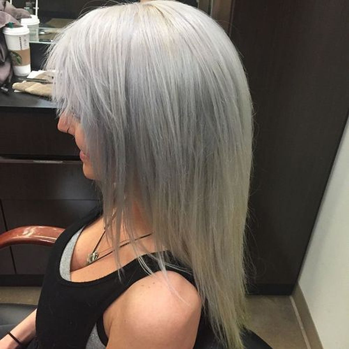 medium Frisuren dünnes Haar