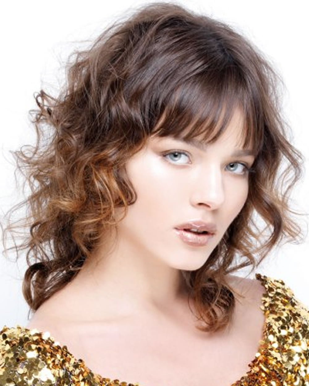Shoulder Length curly Hairstyles of 2019