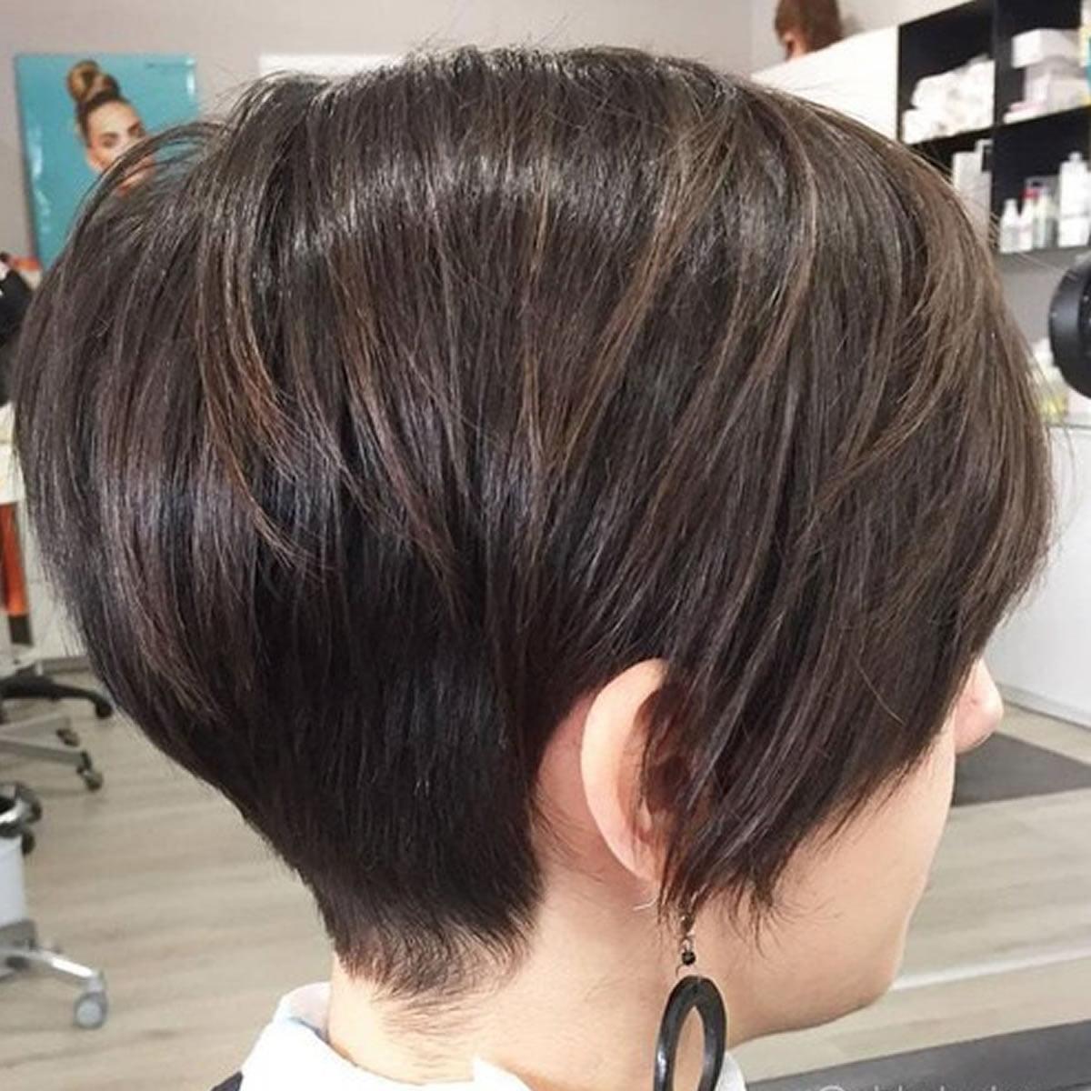 new short haircut