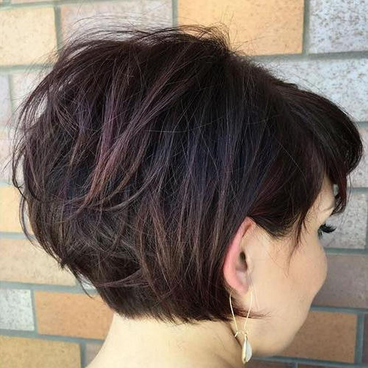 short hair cut style