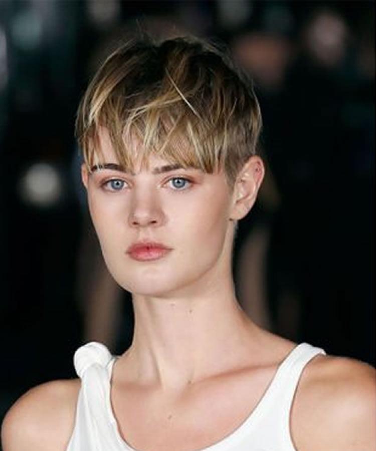 2019 short hair style