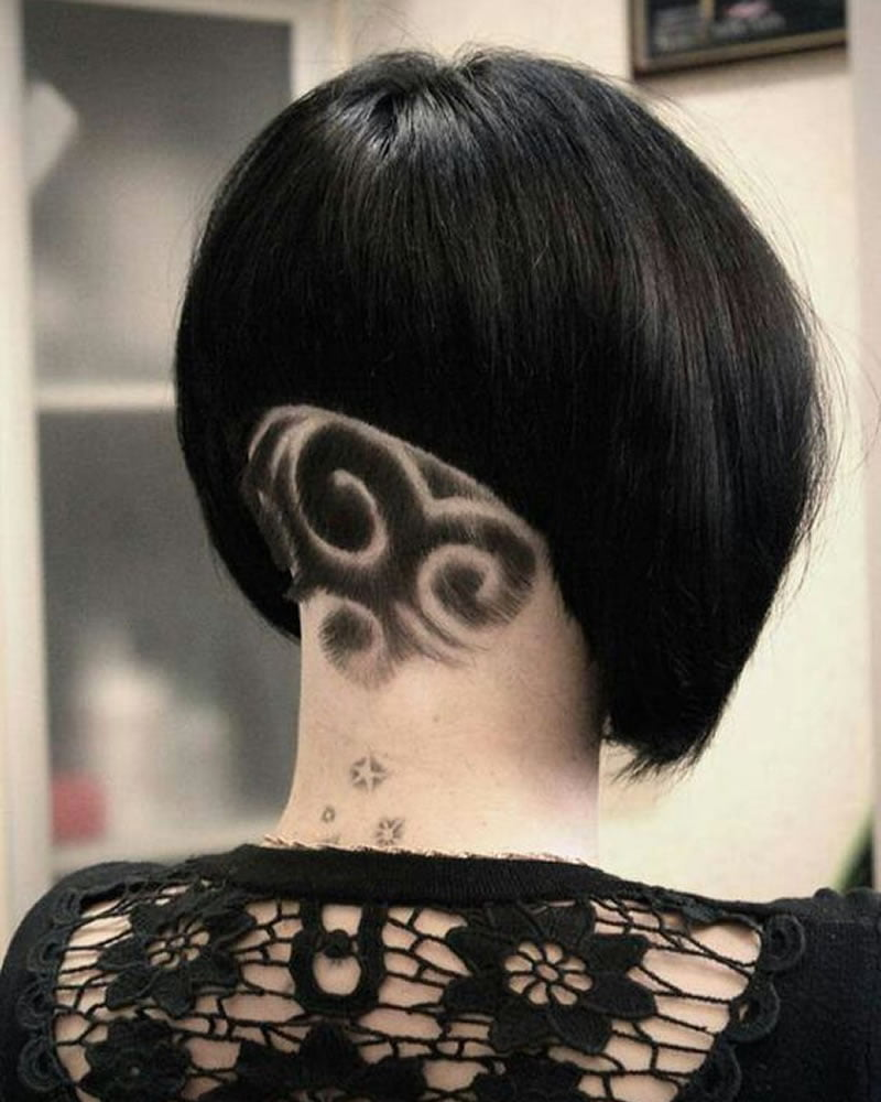 2019 back undercut hairstyles