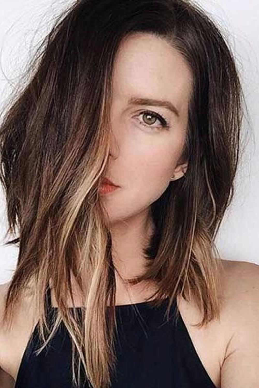 11 Easy Lob Asymmetrical Long Bob Haircuts For Summer Hair Page