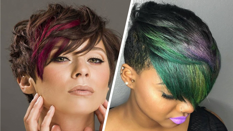 The Best Hair Colors For Women With Short Pixie Haircut 2019