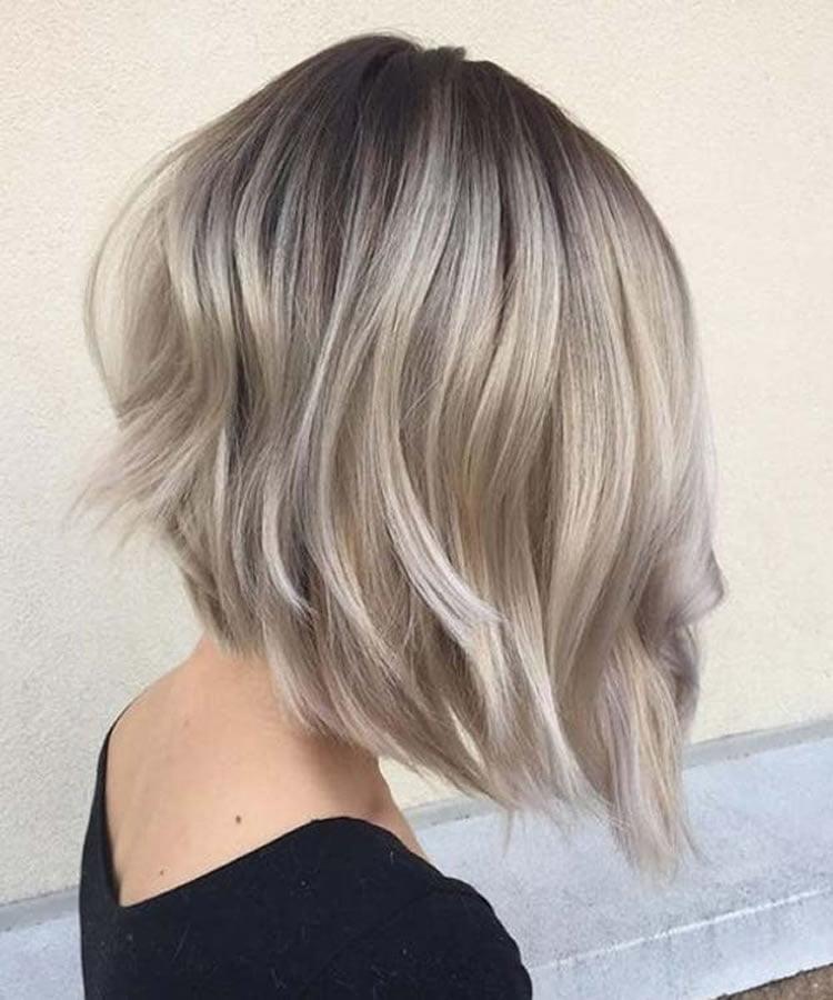 asymmetrical short hair 2019