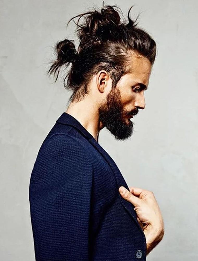 long hair men
