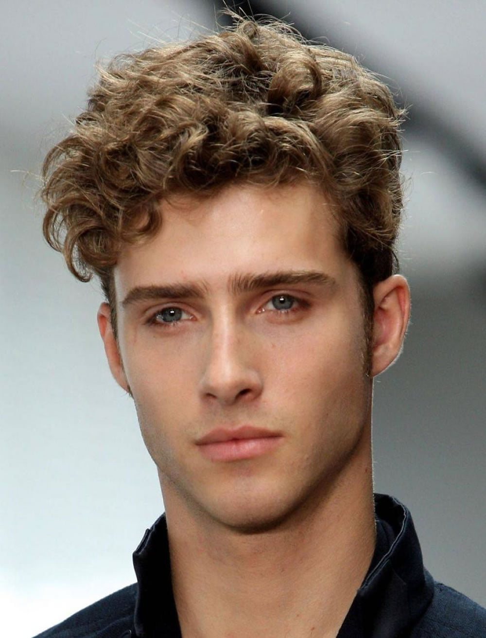 curly mens haircuts 2019