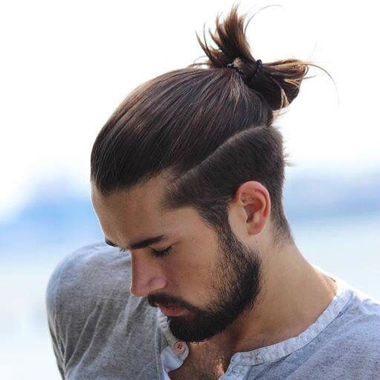 hair style men long hair