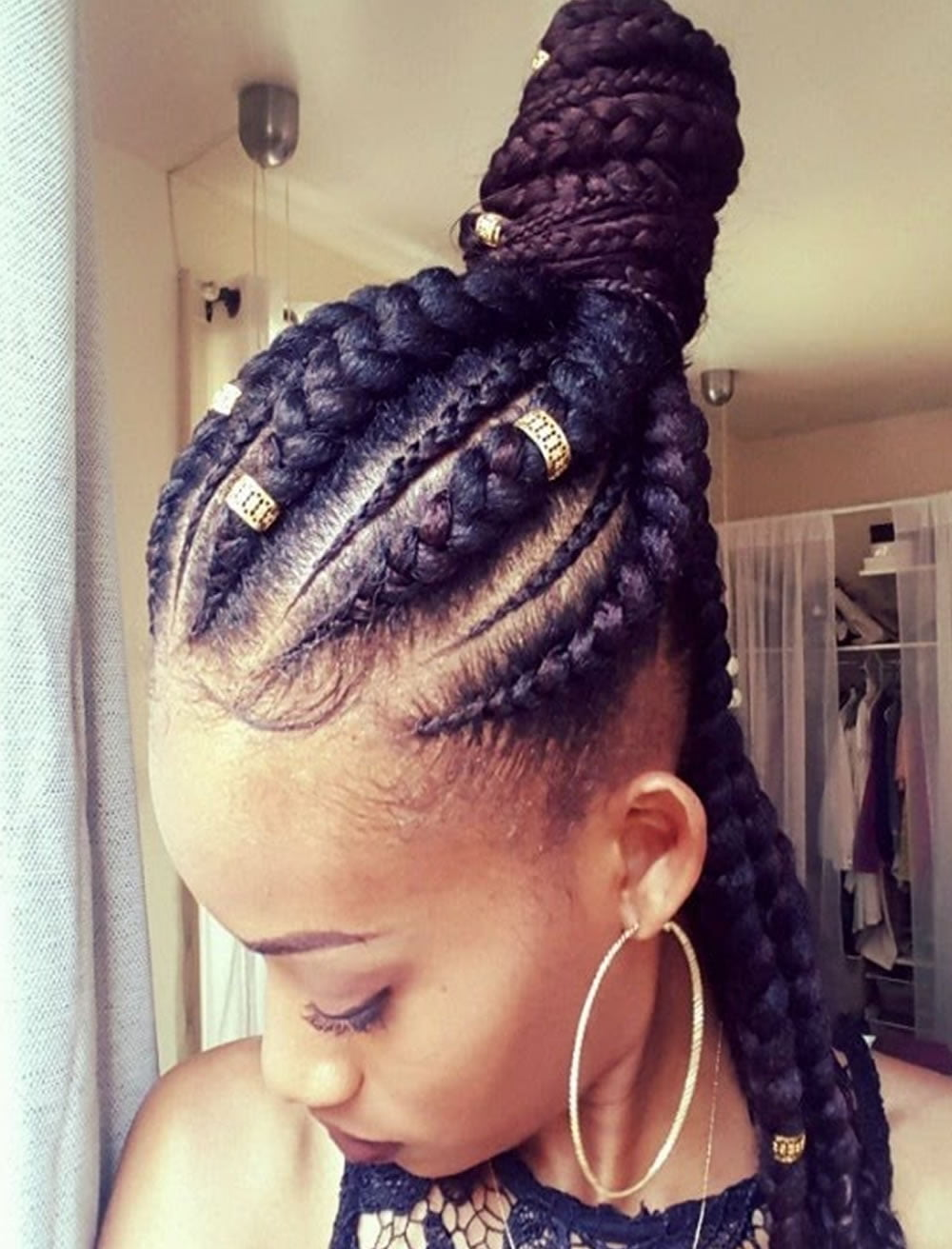 2019 Ghana Braids Hairstyles For Black Women Page 5 Hairstyles