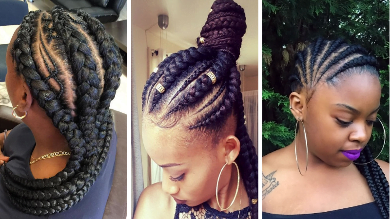 2019 Ghana Braids Hairstyles For Black Women Hairstyles