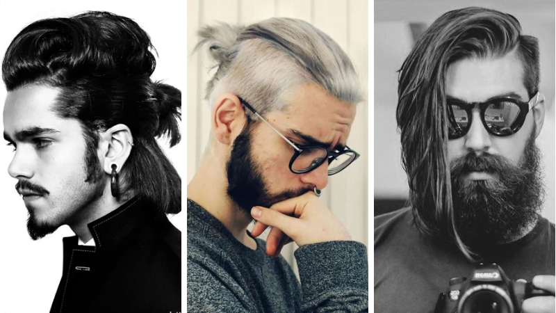 Long Hairstyles for Men 2019 \u2013 How to Style Long Hair for