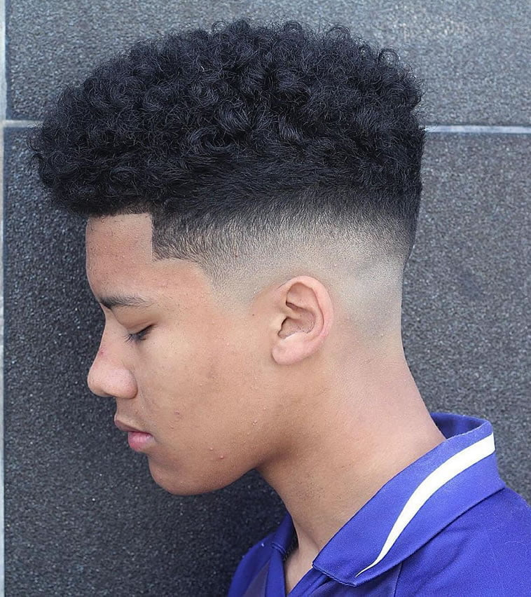 natural short haircut for black women