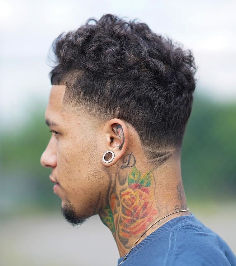 14 Modern Curly Short Haircuts For Men 2019-2020