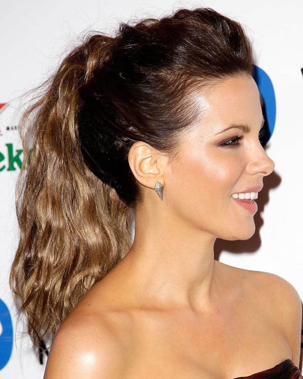 26 Cute ponytail hairstyles (curly, weave, high, sleek, drawstring ...