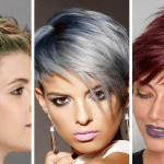 Pixie haircuts and hair color