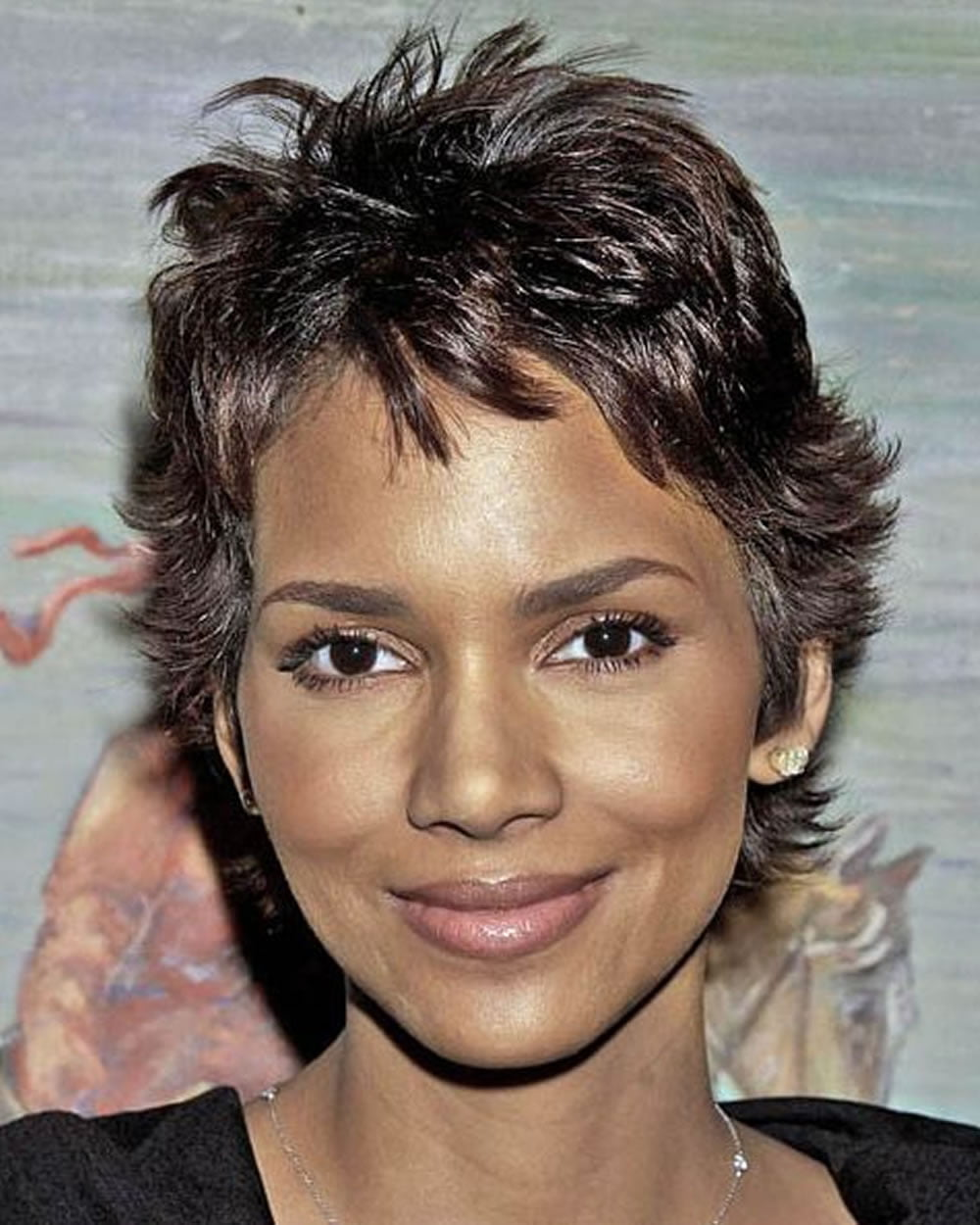 Latest Halle Berry S Short Hairstyles Pixie Short Haircuts