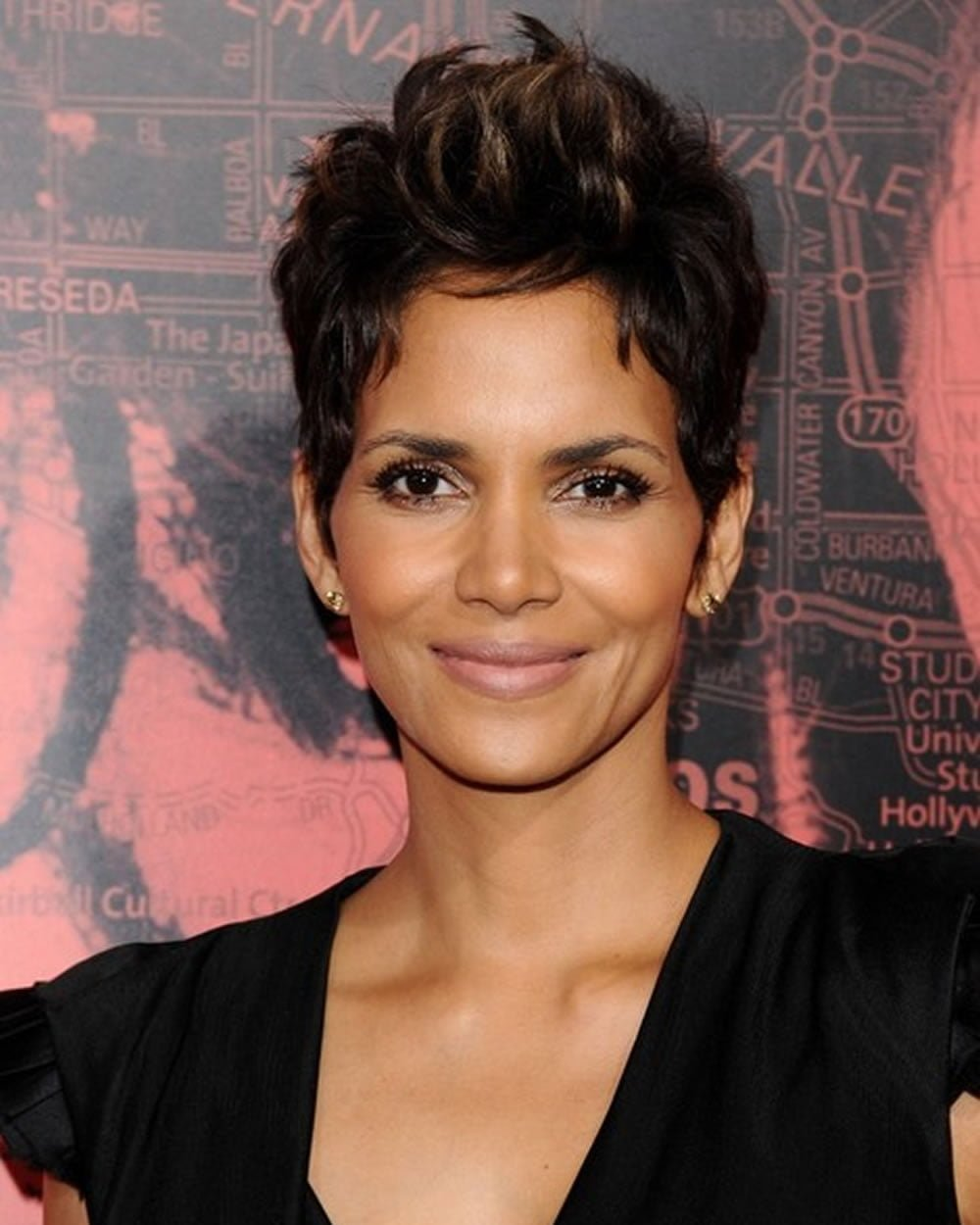 Latest Halle Berry\'s short hairstyles (Pixie + Short ...