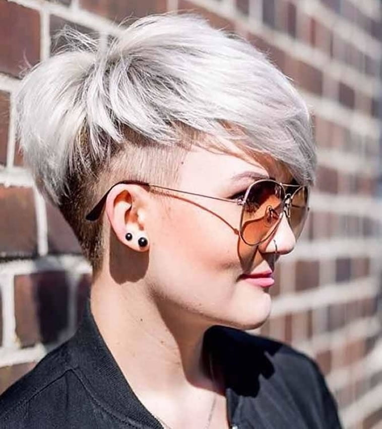 undercut short hairstyle for 2019