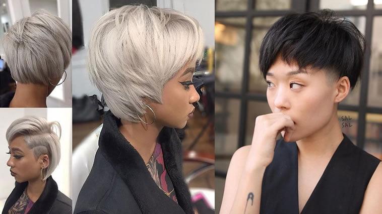 short bob haircuts for asian women