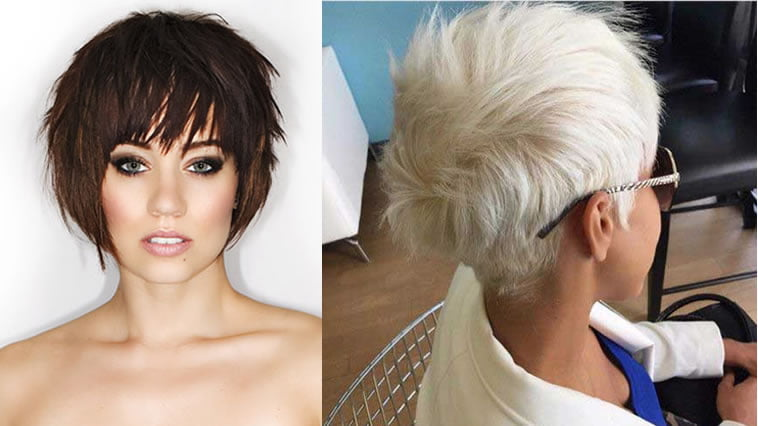 Gray hairstyle 2019 for older women over 60