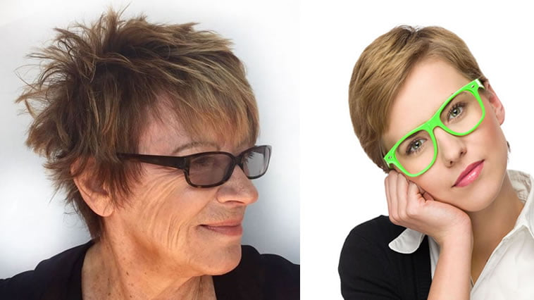 pixie haircut for older women over 60