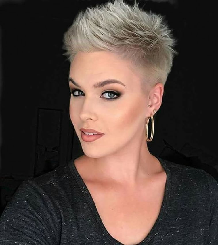 22 Easy short hairstyles : Pixie, bob, undercut asymmetrical haircuts - Page 6 - HAIRSTYLES