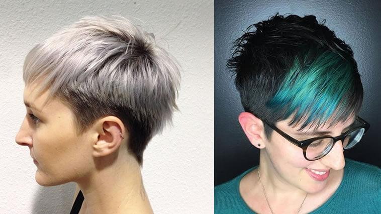 Undercut pixie hairstyle 2019