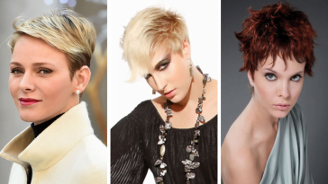 Short hairstyles and hair color ideas for women