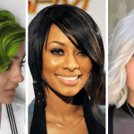 Short bob haircuts & hair colors