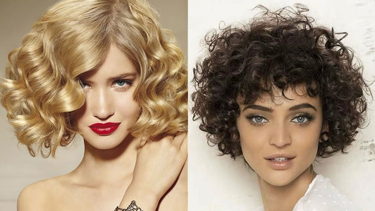 2019 short haircuts for curly hair