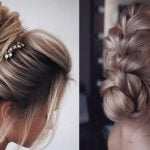 Ballerina bun wedding hairstyles