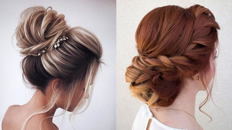 wedding hairstyles for thin hair 2019