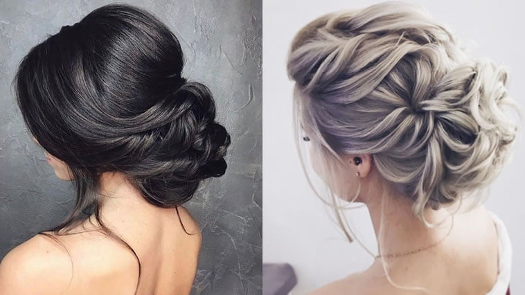 Bun hairstyles for wedding in 2019