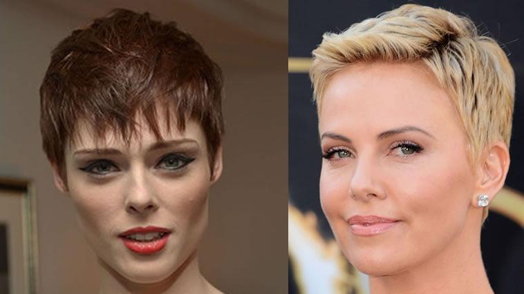 2019 blonde balayage pixie haircut