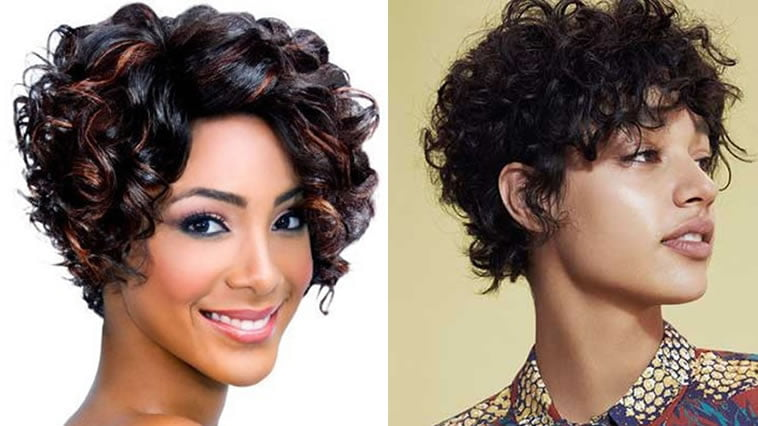 Hairstyles 2019: Curly Pixie Hair 2019 & Short Pixie Hairstyles & Curly