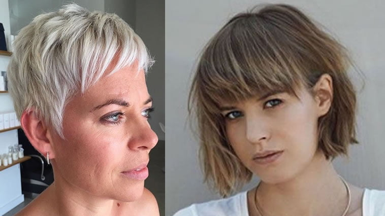 Over 60 short hairstyles 2019