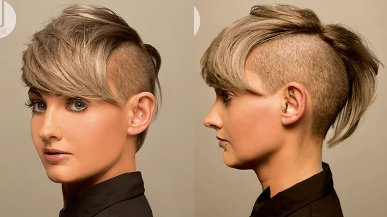 Super undercut hairstyles for short hair 2019-2020