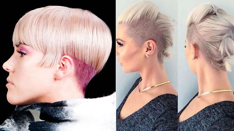 Undercut hairstyle ideas for short hair 2019