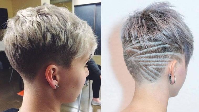 Undercut pixie hairstyles 2019
