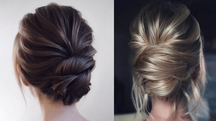 wedding hairstyle for 2019