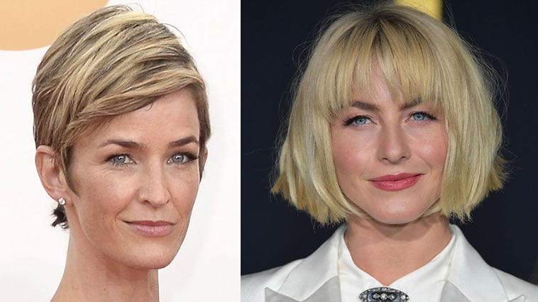 Very short pixie haircut for older women over 50