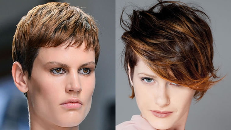 Very short pixie hairstyles oval face